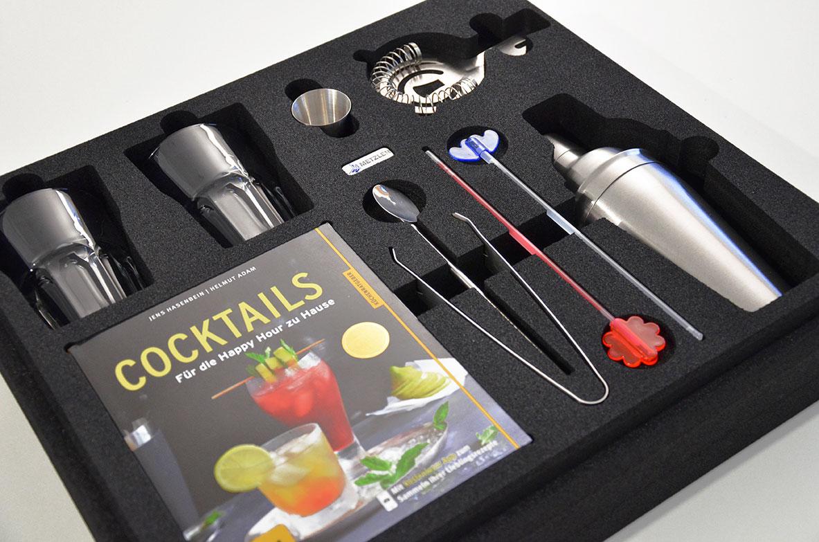 OPT-I-STORE Einlage für Cocktail-Set
