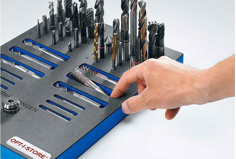 OPT-I-STORE Werkzeugeinlage