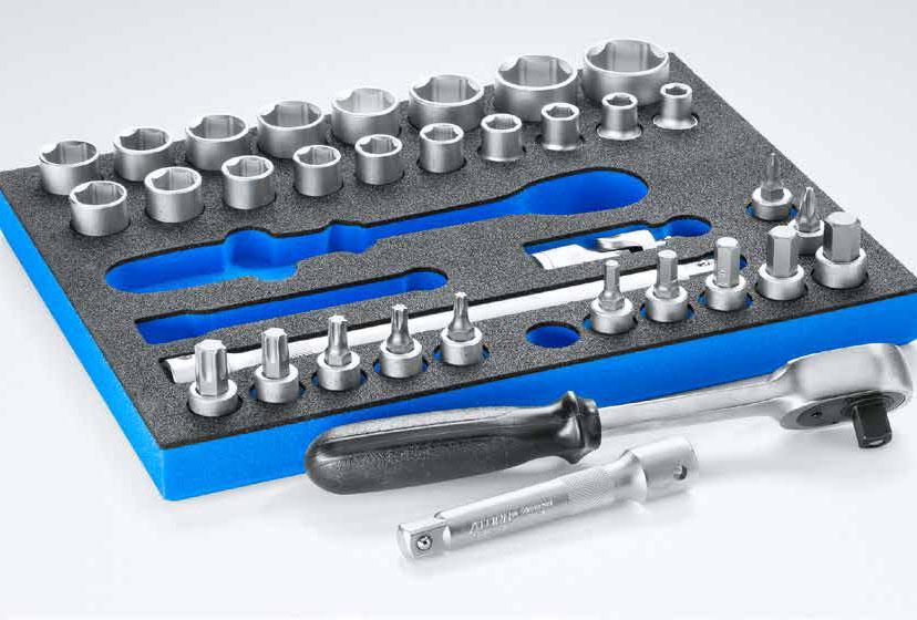 OPT-I-STORE: Werkzeugeinlage